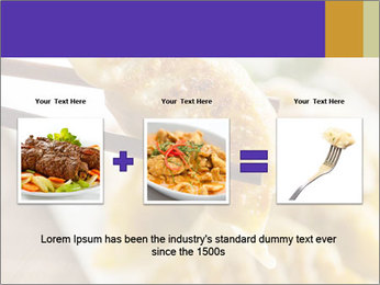 Homemade Asian Vegeterian Potstickers PowerPoint Template - Slide 22