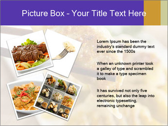 Homemade Asian Vegeterian Potstickers PowerPoint Template - Slide 23