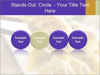 Homemade Asian Vegeterian Potstickers PowerPoint Template - Slide 76