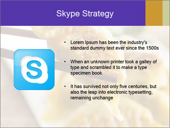 Homemade Asian Vegeterian Potstickers PowerPoint Template - Slide 8