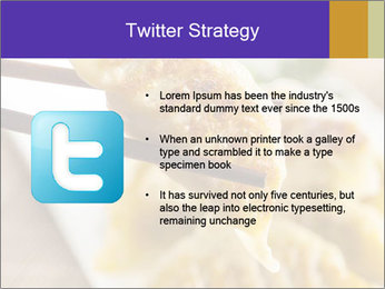 Homemade Asian Vegeterian Potstickers PowerPoint Template - Slide 9
