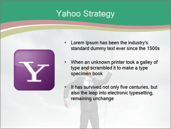 Businessman marionette PowerPoint Templates - Slide 11
