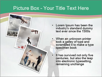 Businessman marionette PowerPoint Template - Slide 17