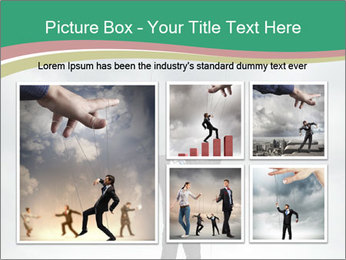 Businessman marionette PowerPoint Template - Slide 19