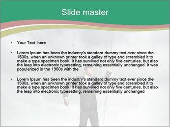 Businessman marionette PowerPoint Templates - Slide 2