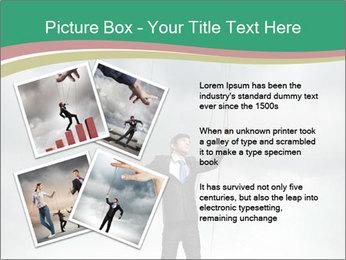 Businessman marionette PowerPoint Templates - Slide 23