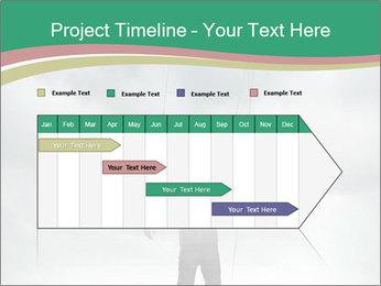 Businessman marionette PowerPoint Templates - Slide 25