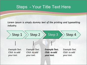 Businessman marionette PowerPoint Templates - Slide 4