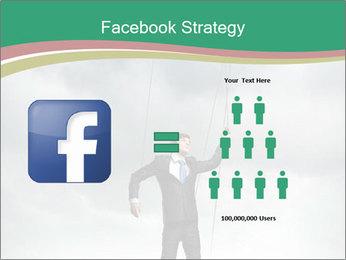 Businessman marionette PowerPoint Templates - Slide 7