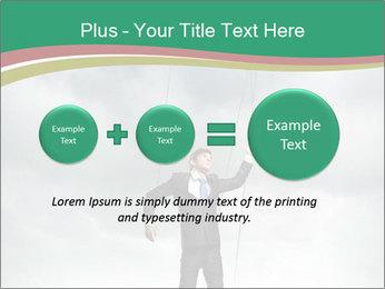 Businessman marionette PowerPoint Templates - Slide 75