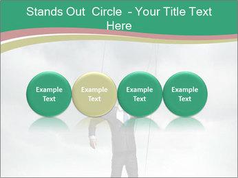 Businessman marionette PowerPoint Templates - Slide 76