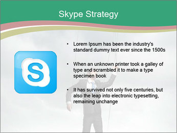 Businessman marionette PowerPoint Templates - Slide 8