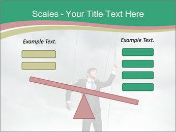 Businessman marionette PowerPoint Templates - Slide 89
