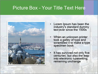 Istanbul city view PowerPoint Template - Slide 13