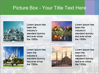 Istanbul city view PowerPoint Templates - Slide 14