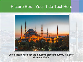 Istanbul city view PowerPoint Template - Slide 15