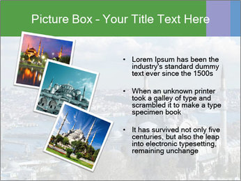 Istanbul city view PowerPoint Template - Slide 17