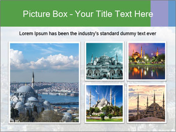 Istanbul city view PowerPoint Template - Slide 19