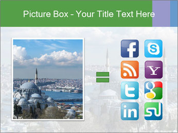 Istanbul city view PowerPoint Template - Slide 21
