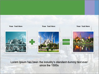 Istanbul city view PowerPoint Template - Slide 22
