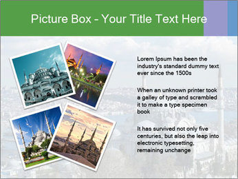 Istanbul city view PowerPoint Template - Slide 23