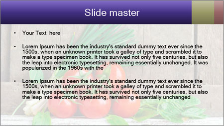 Fresh tomatoes PowerPoint Template - Slide 2