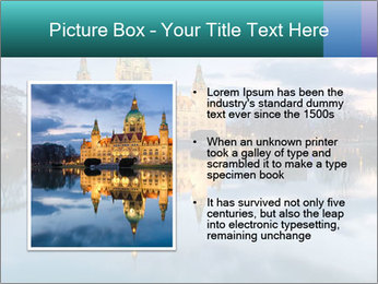 City Hall of Hannover PowerPoint Template - Slide 13