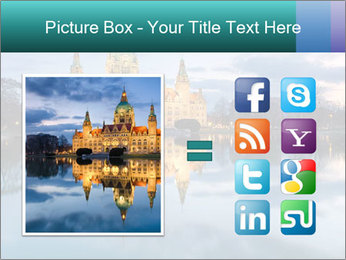 City Hall of Hannover PowerPoint Template - Slide 21
