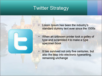 City Hall of Hannover PowerPoint Template - Slide 9