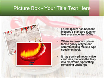 Red peppers on wooden table PowerPoint Templates - Slide 20