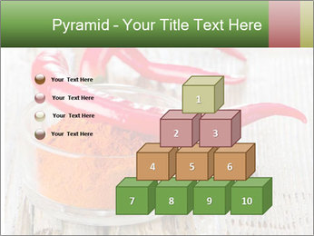 Red peppers on wooden table PowerPoint Templates - Slide 31