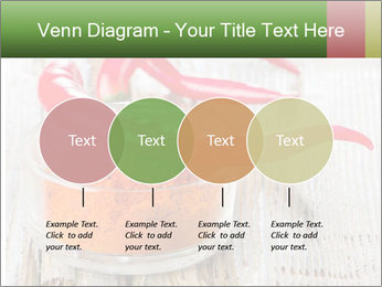 Red peppers on wooden table PowerPoint Templates - Slide 32