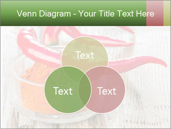 Red peppers on wooden table PowerPoint Templates - Slide 33