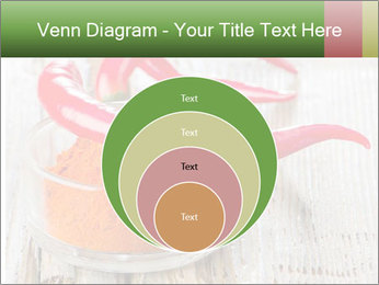 Red peppers on wooden table PowerPoint Templates - Slide 34