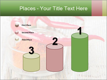 Red peppers on wooden table PowerPoint Templates - Slide 65