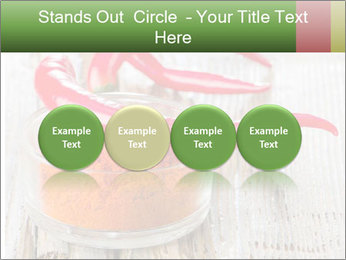 Red peppers on wooden table PowerPoint Templates - Slide 76