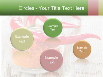 Red peppers on wooden table PowerPoint Templates - Slide 77