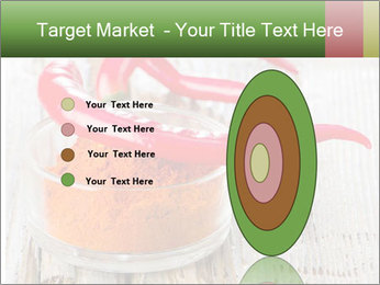 Red peppers on wooden table PowerPoint Templates - Slide 84