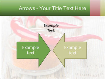 Red peppers on wooden table PowerPoint Templates - Slide 90