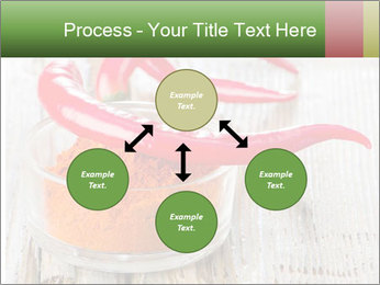 Red peppers on wooden table PowerPoint Templates - Slide 91