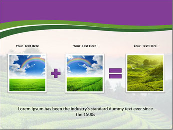 Tea Plantations PowerPoint Templates - Slide 22