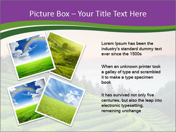 Tea Plantations PowerPoint Templates - Slide 23