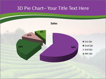 Tea Plantations PowerPoint Templates - Slide 35