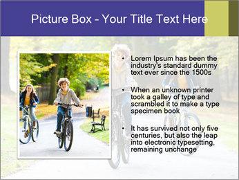 Urban biking PowerPoint Template - Slide 13