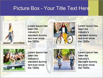 Urban biking PowerPoint Templates - Slide 14
