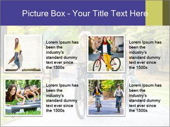 Urban biking PowerPoint Template - Slide 14