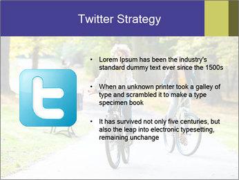 Urban biking PowerPoint Template - Slide 9