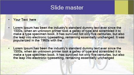 Urban biking PowerPoint Template - Slide 2