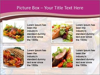 Roasted duck PowerPoint Template - Slide 14