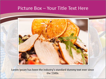 Roasted duck PowerPoint Template - Slide 15